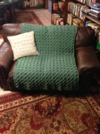 50 Shades of Green Afghan